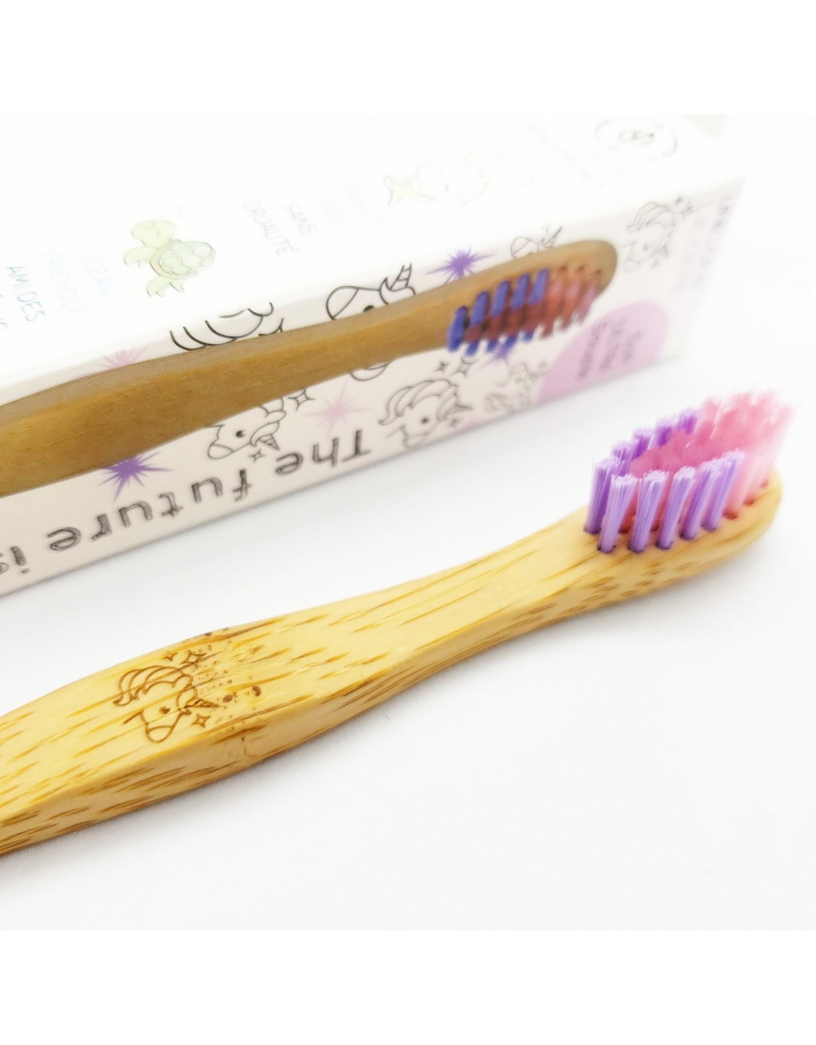La Licornerie ♥♥ Brosse à dents compostable licorne en bambou