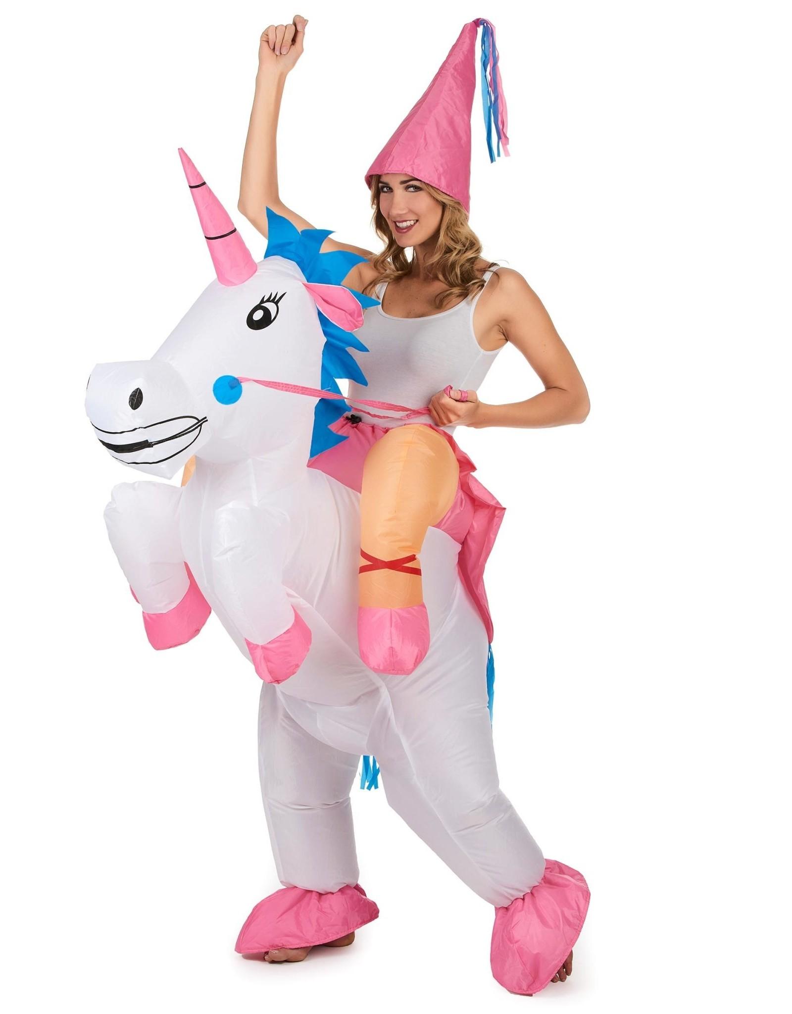 La Licornerie Costume licorne gonflable