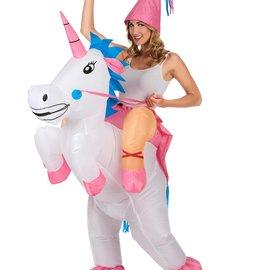 Inflatable Unicorn Put-On Costume