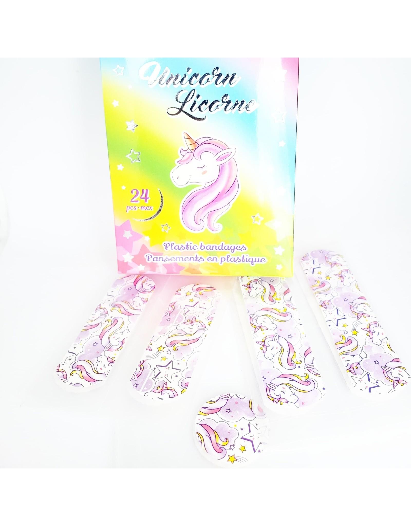 Unicorn Bandages  (24 pieces)