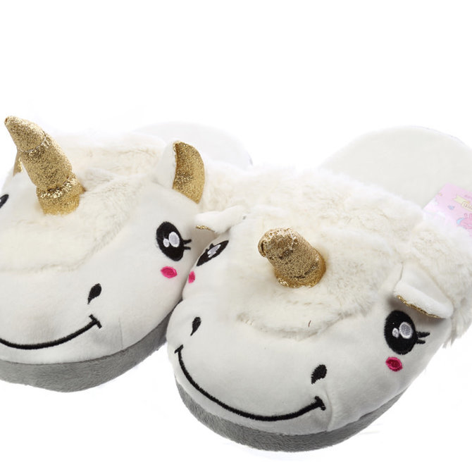 La Licornerie Plush slippers adult size