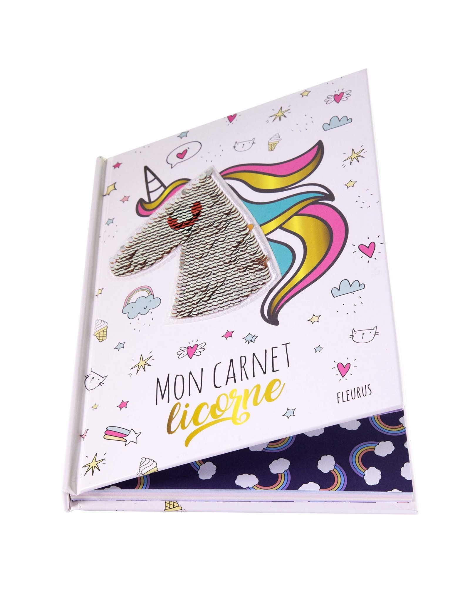 La Licornerie ♥ Livre Mon carnet secret - Licorne