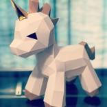 Sofs Design ♥♥ Origami bébé licorne