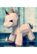 Origami bébé licorne