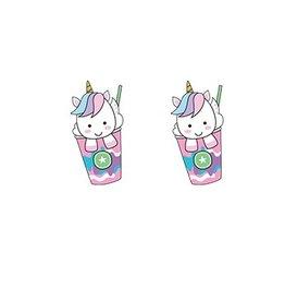 Boucles d'oreilles faites à la main avec amour