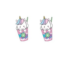 La Licornerie Lovingly Handmade Unicorn Earrings