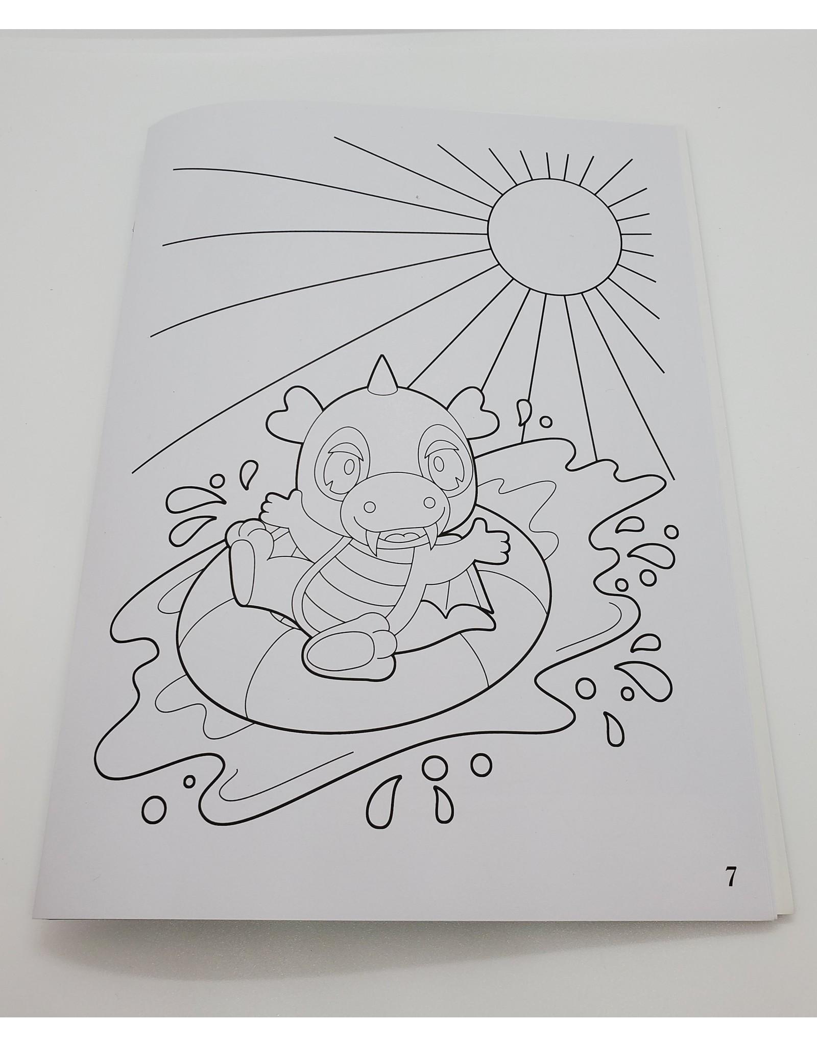 Livre à colorier Drago