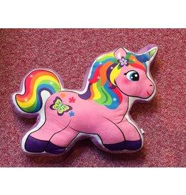Caravan Softoys Unicorn Shaped Cushion
