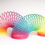 Plastic Rainbow Slinky
