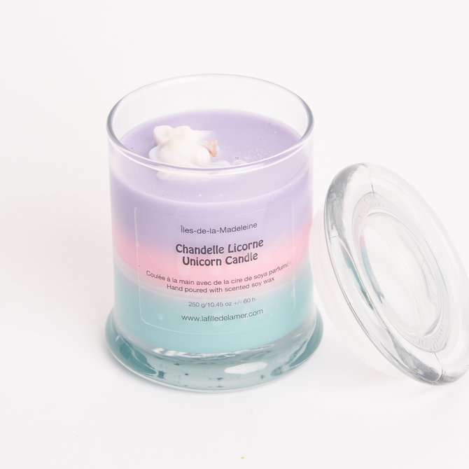 La Licornerie ♥♥ Handcrafted Unicorn Soy Candle