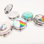 La Licornerie Unicorn Glass Pill Box