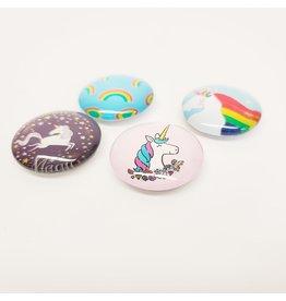 Unicorn Glass Magnet
