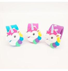 Unicorn Head Slap Bracelet