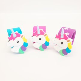 La Licornerie Unicorn Head Slap Bracelet