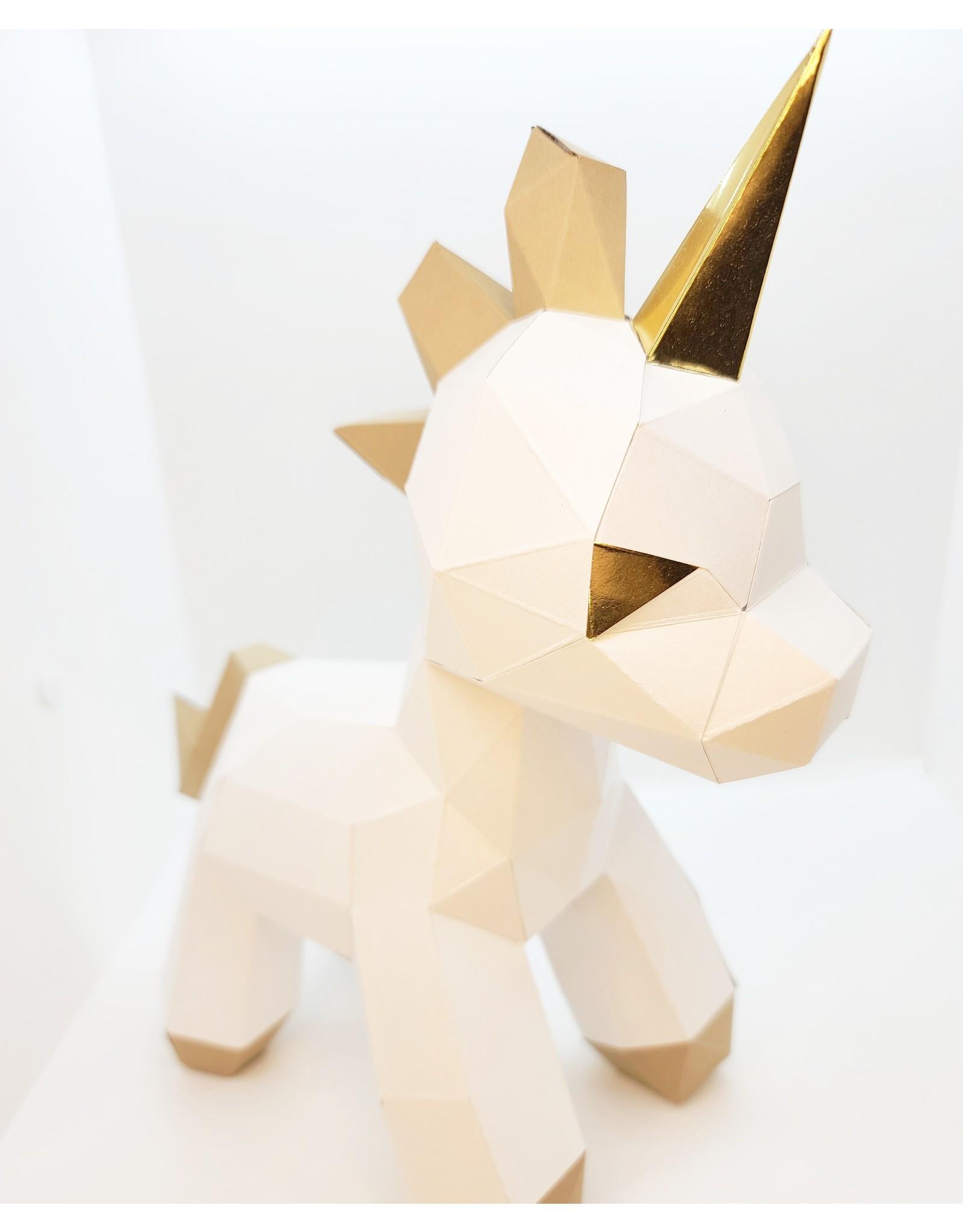♥♥ Origami bébé licorne