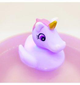 Light-Up Rubber Duck-Unicorn