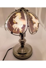 Unicorn Stained-Glass Tactile Lamp