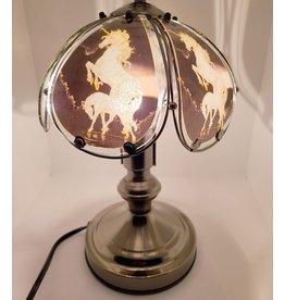 Lampe magique tactile à vitraux brillants