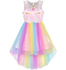 La Licornerie Robe licorne princesse tulle 8 ans