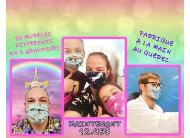 Masques licornesques & fantastiques