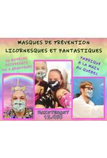 La Licornerie ♥♥ Masque de prévention licornesque