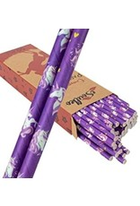 Compostable Unicorn Straws (50 straws)