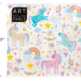La Licornerie Paper Towels Pastel Floral Unicorns (20)