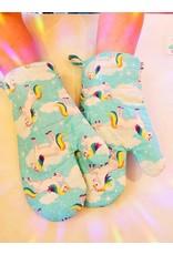 ♥♥ Mitaines de four licornesques et fantastiques