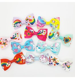 La Licornerie Unicorn Bowtie Hair Clips set of 10