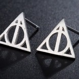 La Licornerie Deathly Hallows Earrings