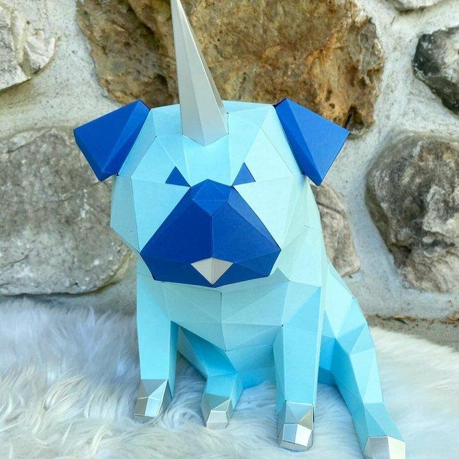 Sofs Design ♥♥ Pugicorn Origami
