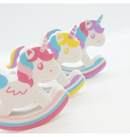 Swinging Unicorn Eraser