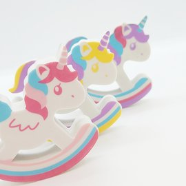 La Licornerie Swinging Unicorn Eraser