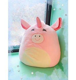 Caravan Softoys Toutou Cochon Licorne Rose