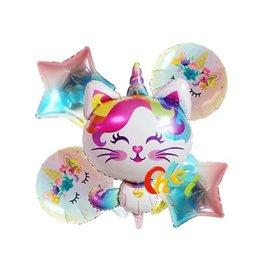 Caticorn Balloons Set (5 pieces)