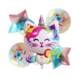 La Licornerie Ensemble ballon Caticorn (5 morceaux)