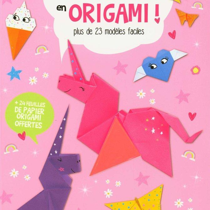 Craftship Book: Licornes en origami - 23 modèles faciles à faire!