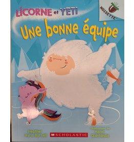 Livre Licorne et Yeti : Une bonne équipe