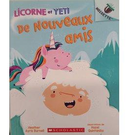 Livre Licorne et Yeti : De nouveaux amis