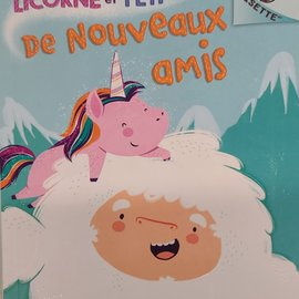 Livre Licorne et Yeti 1 : De nouveaux amis Book