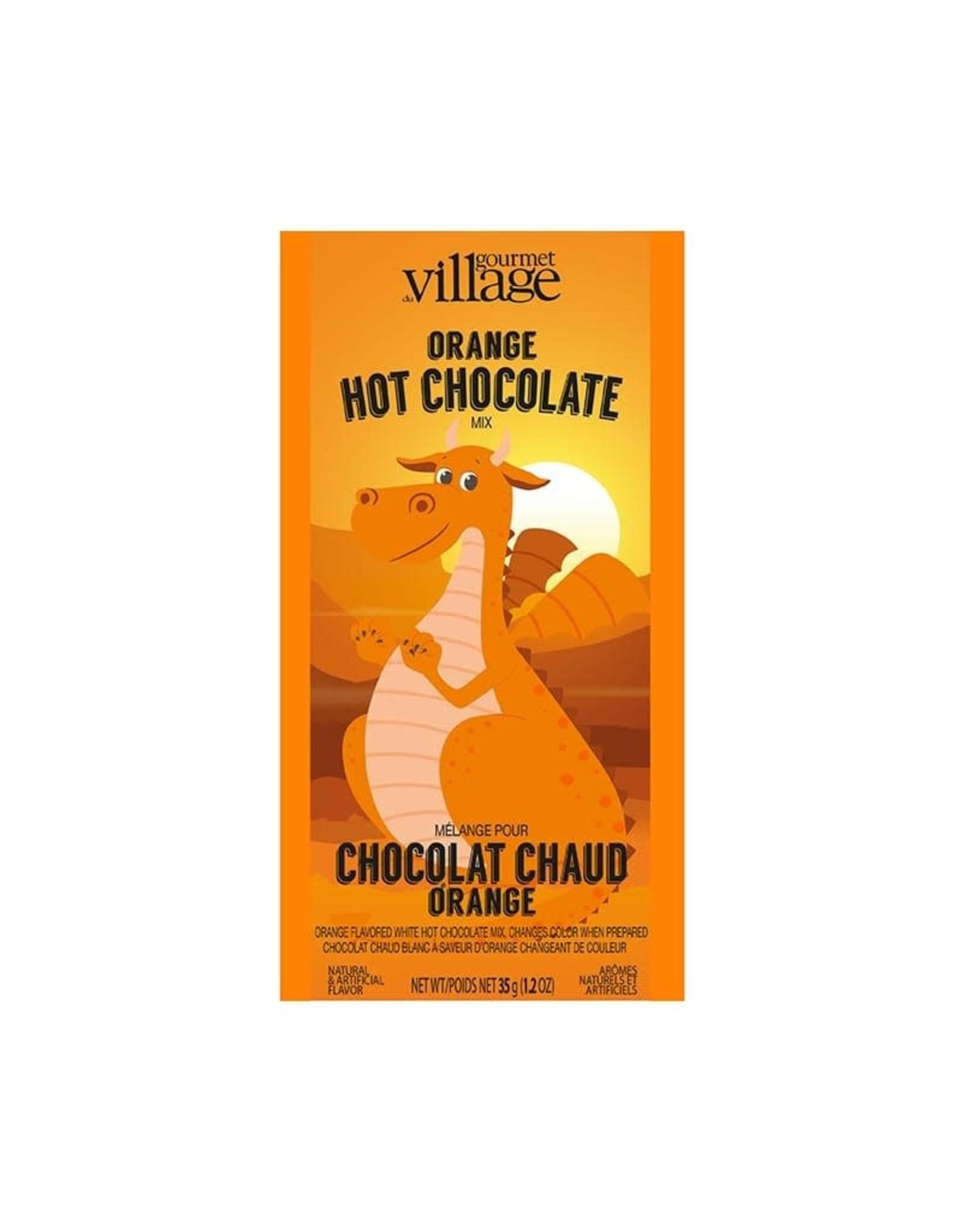 ♥♥ Dragon Orange colored Hot Chocolate