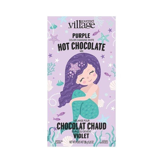 Gourmet du Village ♥♥ Chocolat chaud violet Sirène