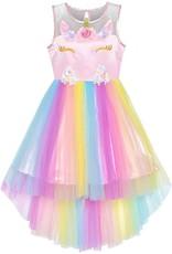 La Licornerie Robe licorne princesse tulle 4-5 ans