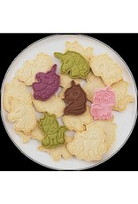 Set of 6 Cookie Cutters Unicorn Shaped