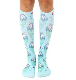 Bas genoux sirènes-licornes