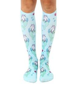 Mermaid-Unicorn High Knee Socks