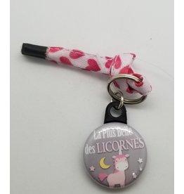 La Licornerie ♥♥ Porte-clé lacet variés