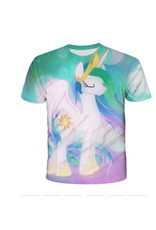 White Unicorn Princess T-Shirt