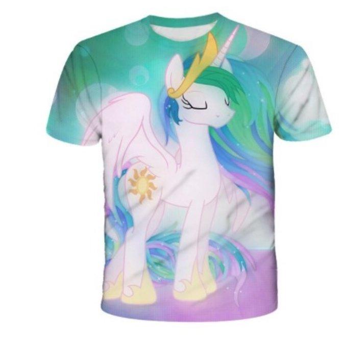 La Licornerie White Unicorn Princess T-Shirt