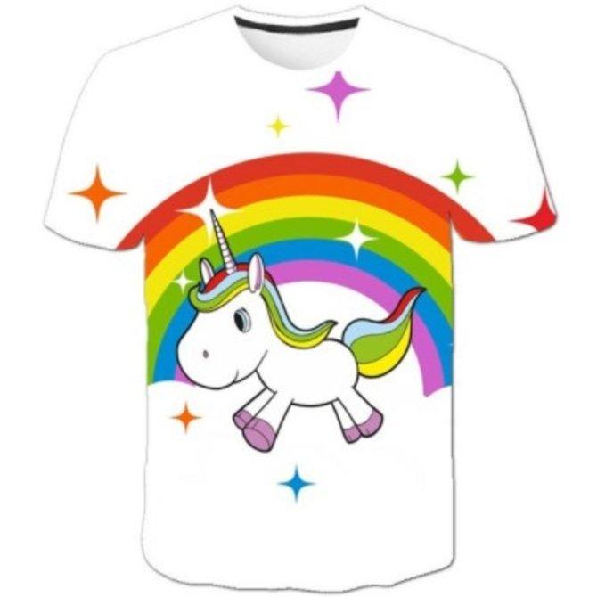 La Licornerie Unicorn on Rainbow T-Shirt